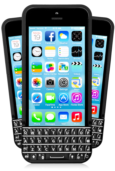 Typo iPhone Keyboard Case Makes You Type Better, Knocks BlackBerry