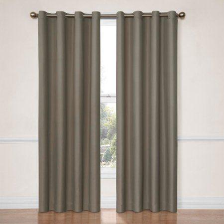Eclipse Dane Grommet Blackout Energy-Efficient Curtain Panel ...