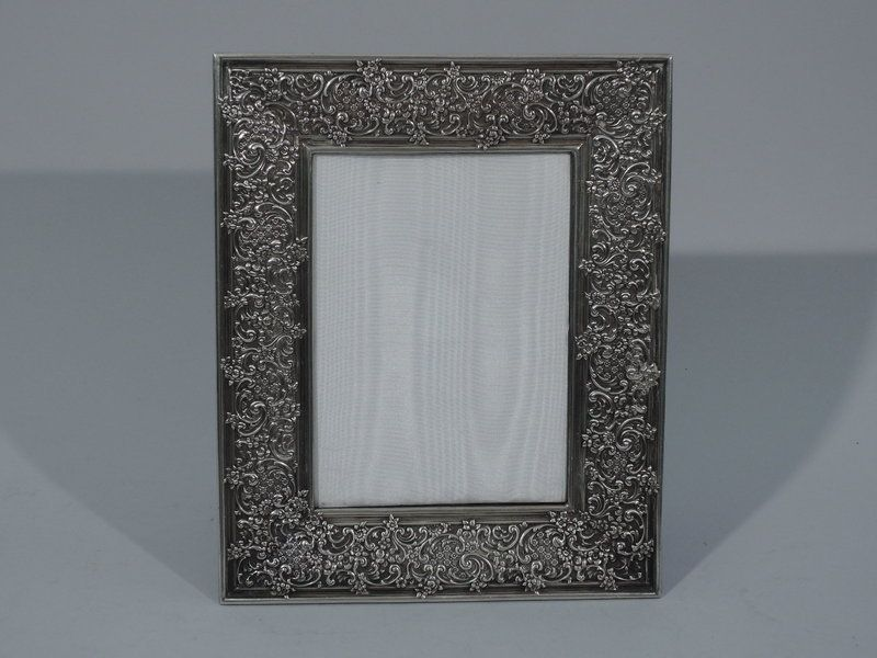 Tiffany Sterling Silver Picture Frame C 1885 Decorative Accents