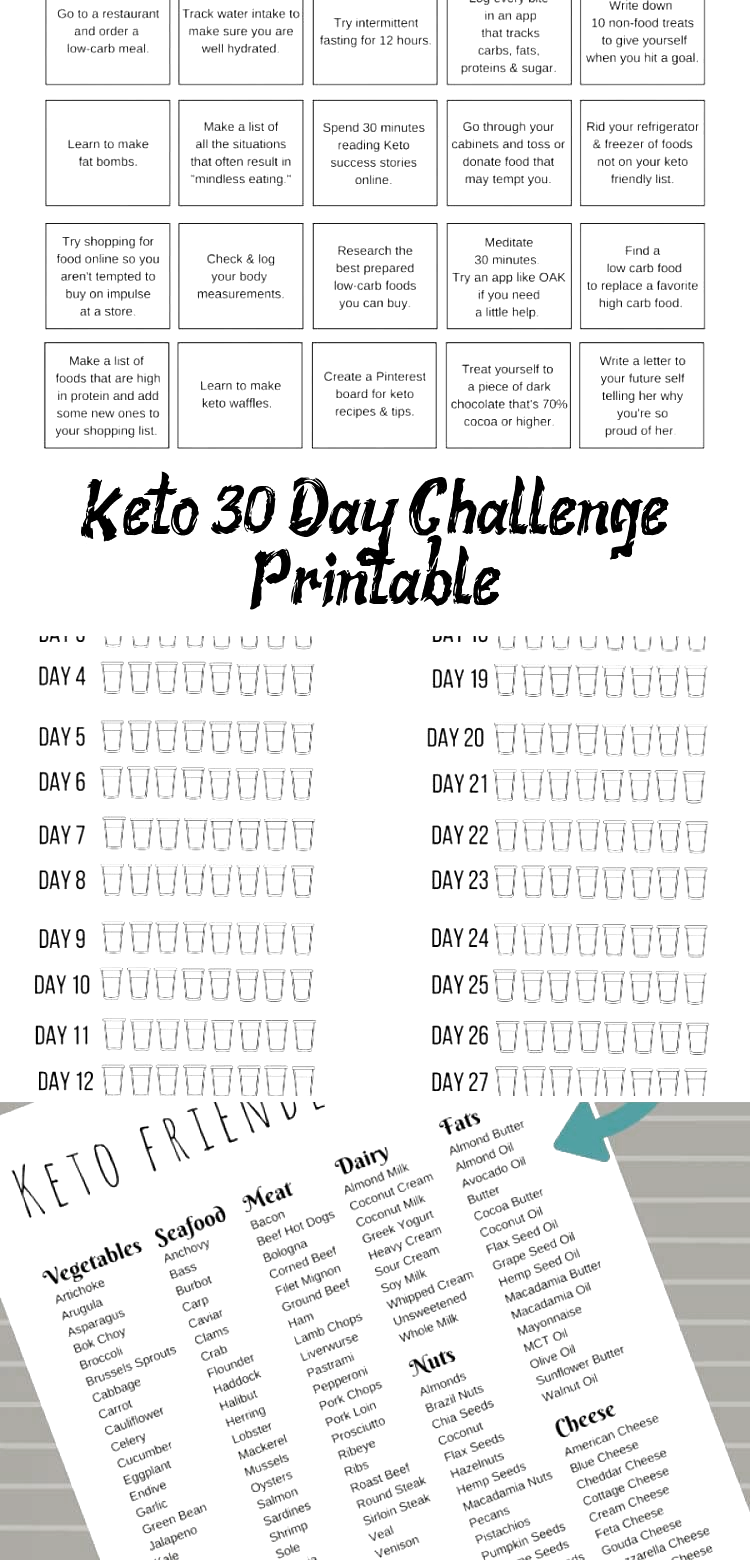 #challenge #Clean Eating Diet 30 Day #Day #Diet #fitness #Health #Keto #Printable If you are starting the Keto Diet youll love this 30 day ketogenic diet plan pdf. Print this Free 30 Day Keto Challenge Printable to help you start the Ketogenic diet for beginners. #FastDiet #CleanEatingDiet #DietInspiration