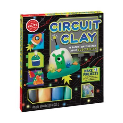 Klutz Circuit Clay Multi Gifts For Kids Educational Toys For