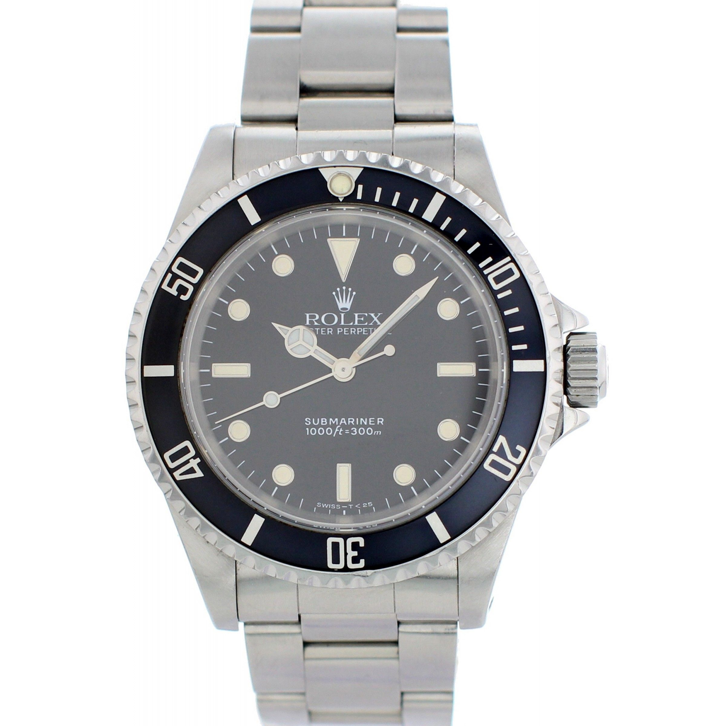 Rolex Oyster Perpetual Submariner No Date 14060 Mens Watch Rolex Watches Rolex Rolex Watches Submariner