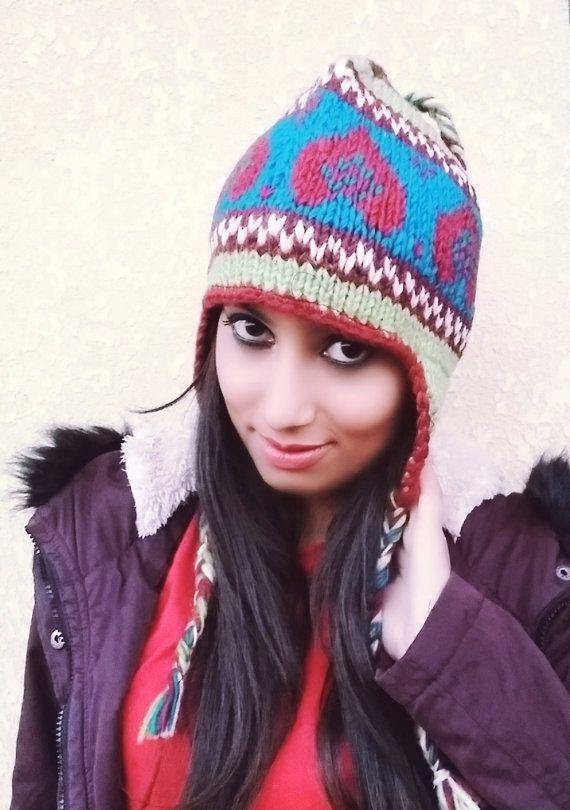 Handmade Unisex Sherpa Wool Hat Thanksgiving Gift by megypsy  a32cda3a2b84