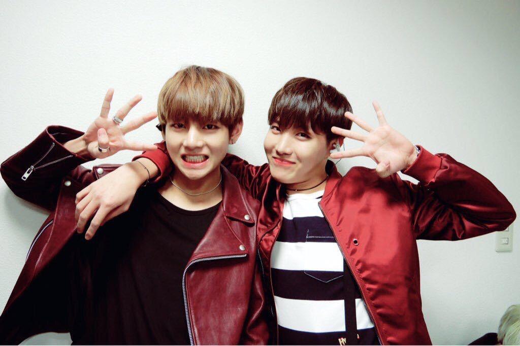 Taetae and Hobi
