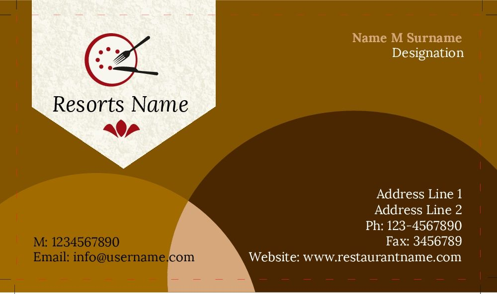 Restaurants Business Cards With Images Restaurant Business