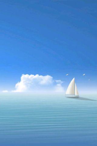 Sail Boat Boat Wallpaper Boat Illustration Sailing Boat