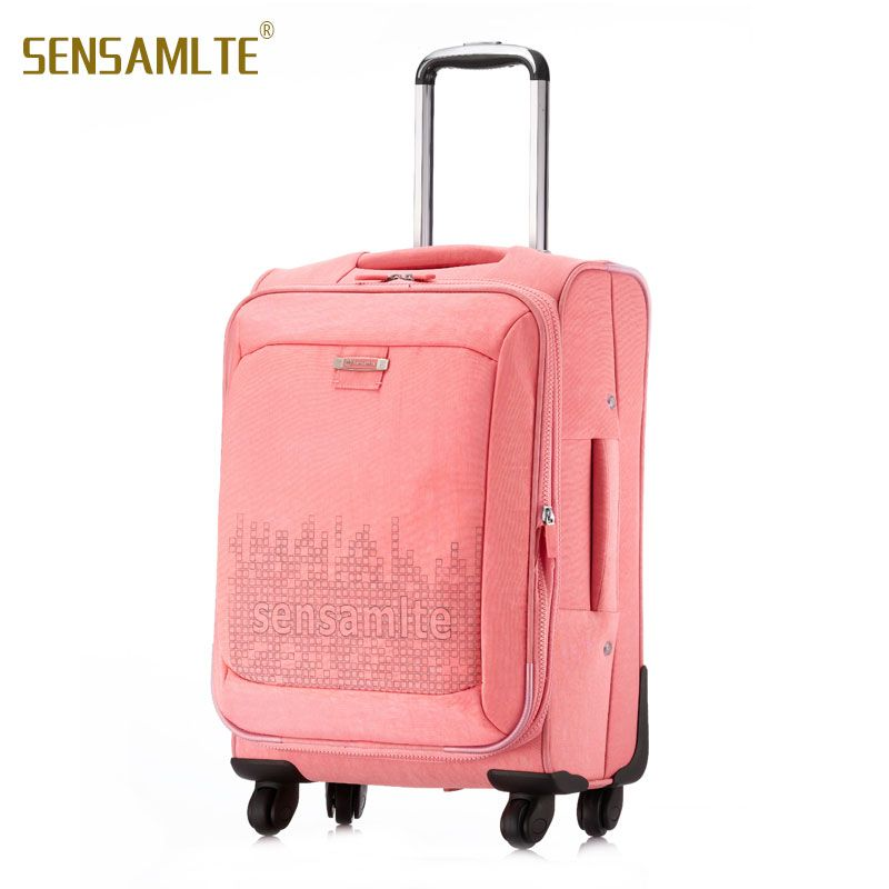 Women Trave Suitcase On Wheels Colourful Designer Luggage Rolling ...