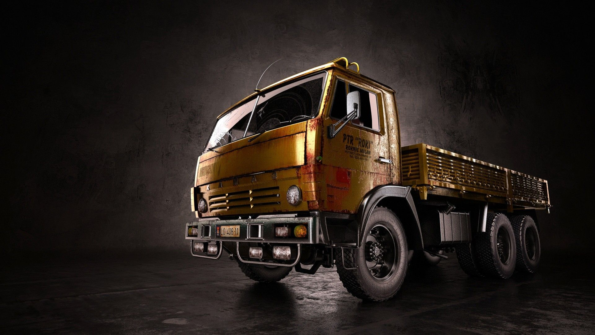 Absolutely Stunning Truck Wallpapers in HD 1920×1080 Truck