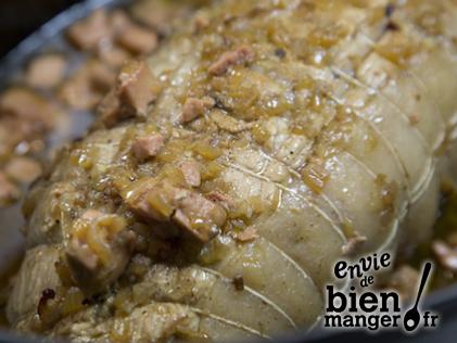 Roti De Veau Aux Morilles Sauce Foie Gras Recipe Liver Recipes