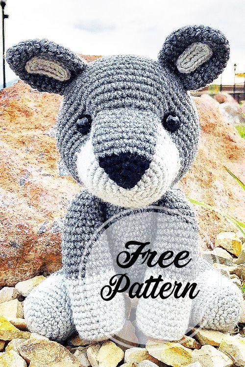 How To Crochet an Amigurumi Rabbit | Horgolt játékok, Kreatív ... | 750x500
