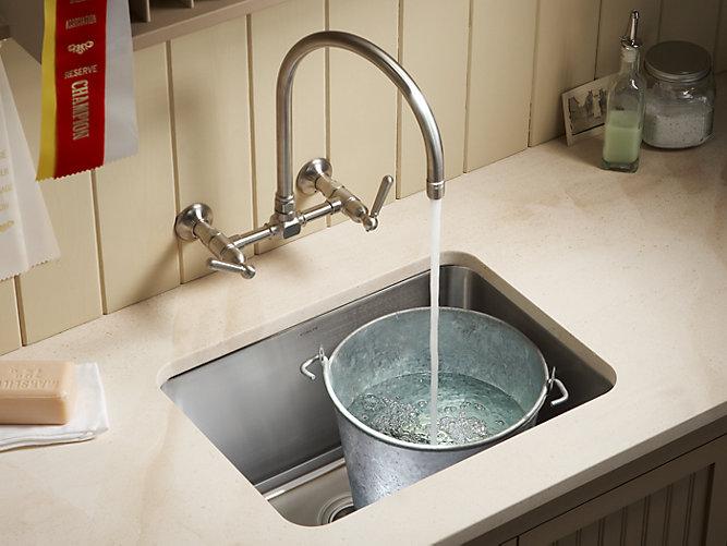 Undertone 23 X 17 1 2 X 11 5 8 Undermount Utility Sink In 2020