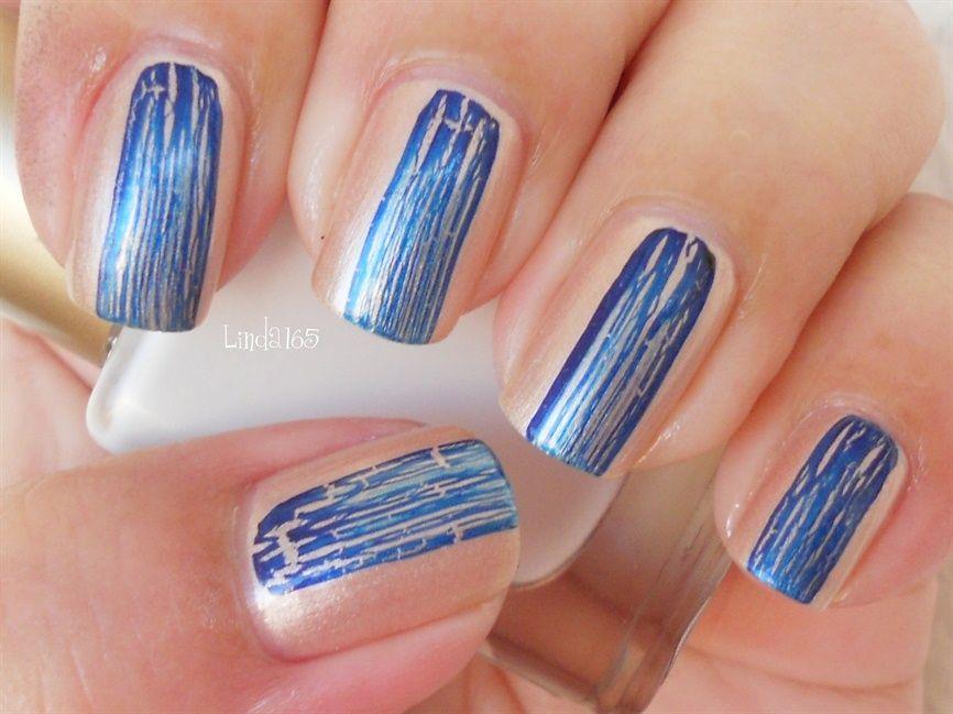Navy Shatter - Nail Art Gallery | Pretty Nails | Pinterest | Nail ...