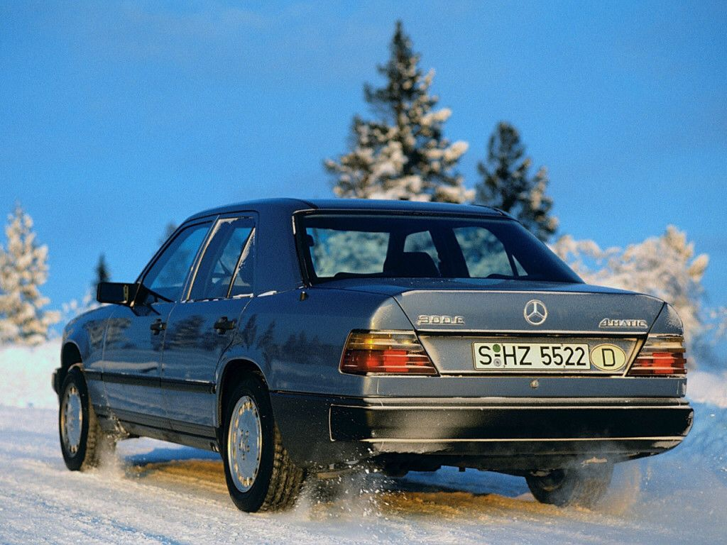 Mercedes Benz W124 300e 4matic Mercedes Benz Mercedes Ford