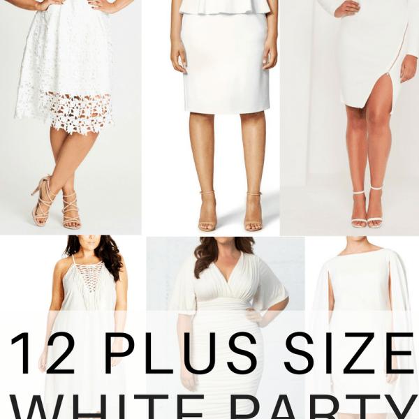 12 Plus Size White Party Dresses Plus Size Bachelorette Party