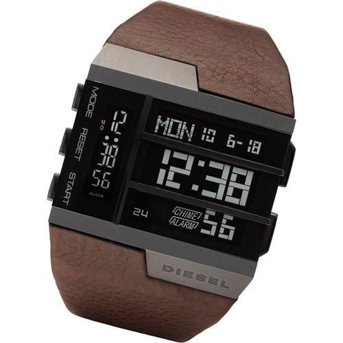 5f94cb201 Men's Watch / Digital / Leather Strap | Diesel in 2019 | Mens ...