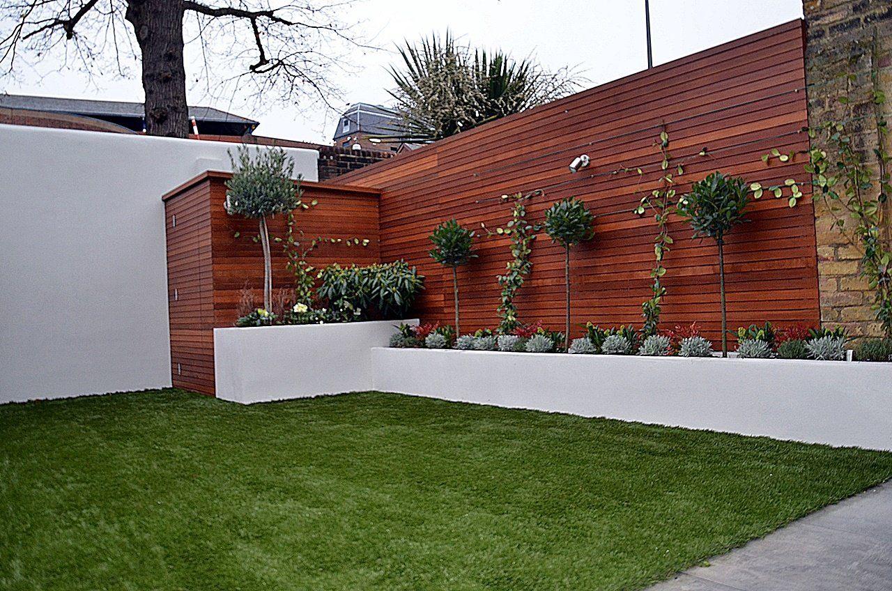 Low Maintenance Modern Garden in 8  Modern garden, Trellis