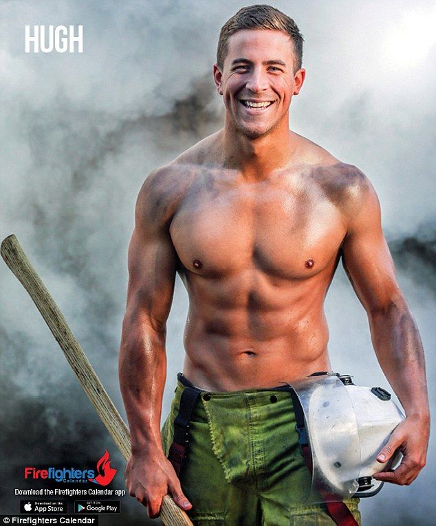 The Men From The Firefighter S Calendar Strip Off For 2017