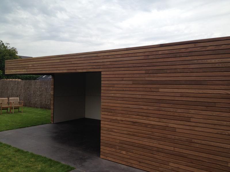Bijgebouwen pure carpentier hardwood solutions cladding