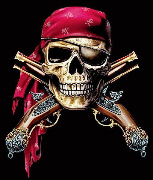 Крутые картинки пиратов, гирлянда анимация