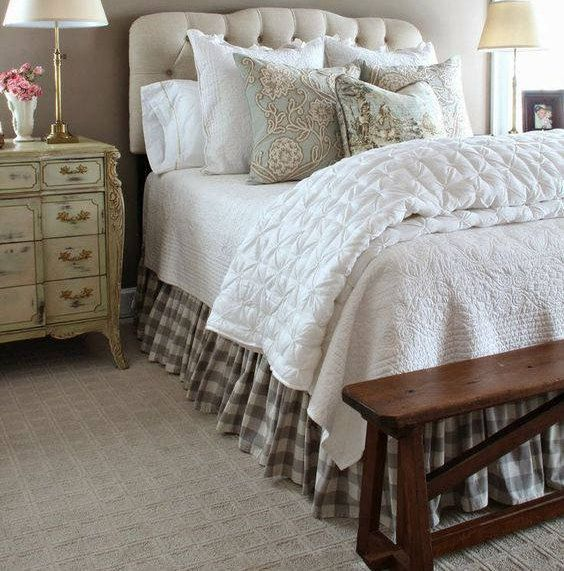 Non Traditional Wall Décor Ideas To Make A Bold Statement: Buffalo Check Bed Skirt, Country Bed Skirts, Plaid Bed