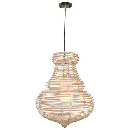 Open rattan pendant lamp.Product: Pendant Construction Material ...