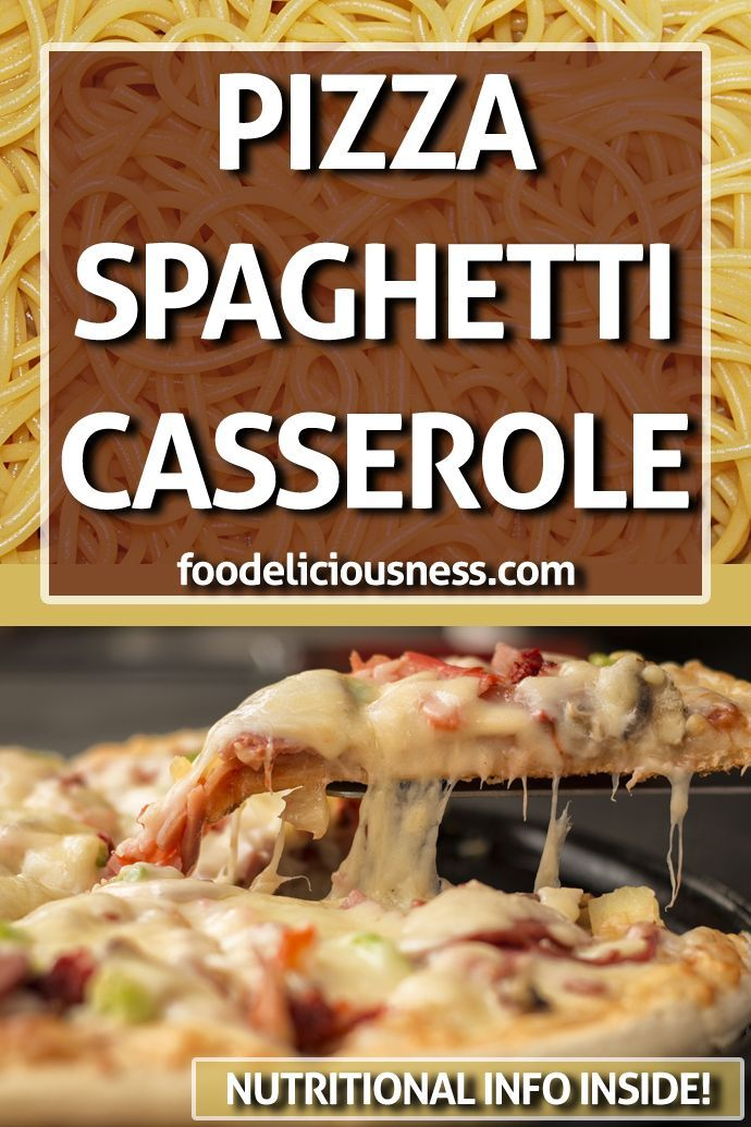 Pizza Style Spaghetti Casserole  Everybody loves pizza and a lot also love pasta as well And why Pizza Style Spaghetti Casserole  Everybody loves pizza and a lot also lov...