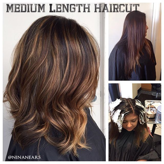 slight line lob hair