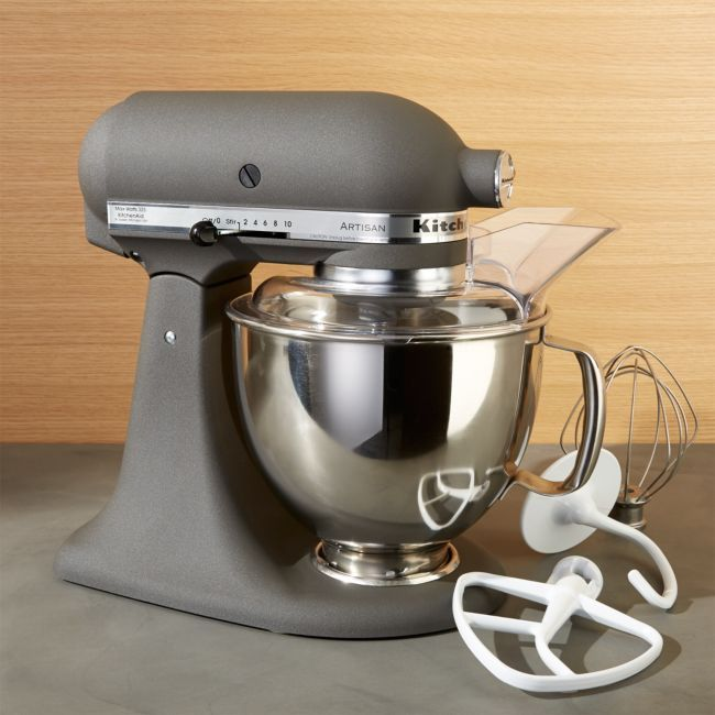 Kitchenaid Artisan Imperial Grey Stand Mixer Reviews Crate And Barrel Kitchen Aid Kitchenaid Artisan Kitchen Aid Mixer