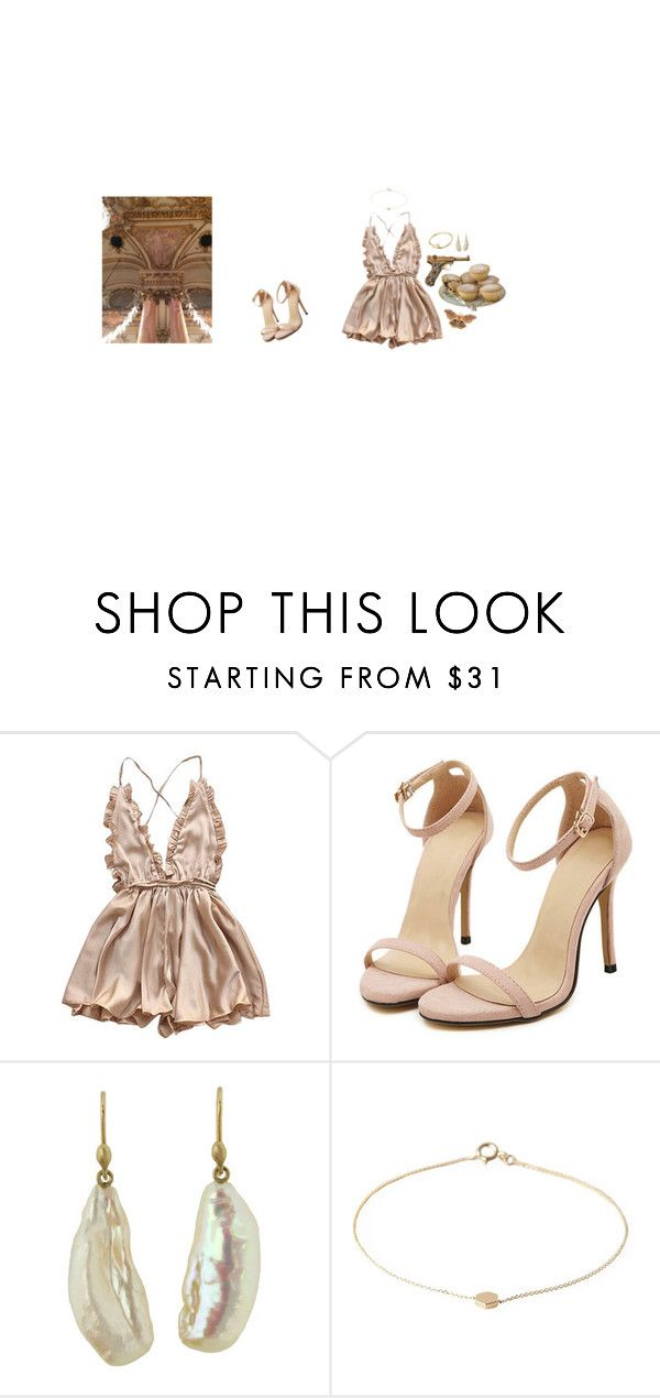 """""""Rose"""" by blew-the-alien ❤ liked on Polyvore featuring Cartier, Ted Muehling and Mociun"""