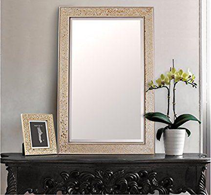 Miroir Mural Design Miroir Rectangulaire Mosaïque Moderne Salle