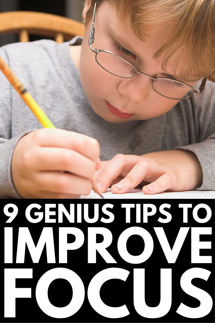 How to help add child focus on homework