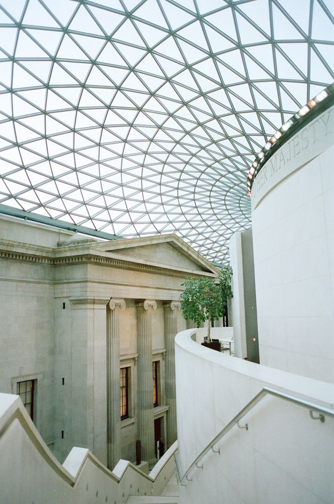 Great Court The British Museum Designed By Norman Foster Norman Foster Architecture Architectural Inspiration London Architecture