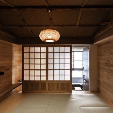 Shoji Paper Doors 인테리어 나무 문 건축