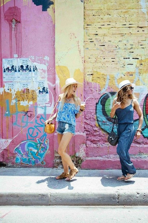 Show Me Your Mumu bachelorette party in Colombia | @100layercake