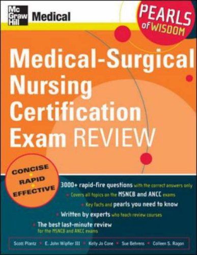 Bestseller Books Online Medical-Surgical Nursing Certification Exam ...