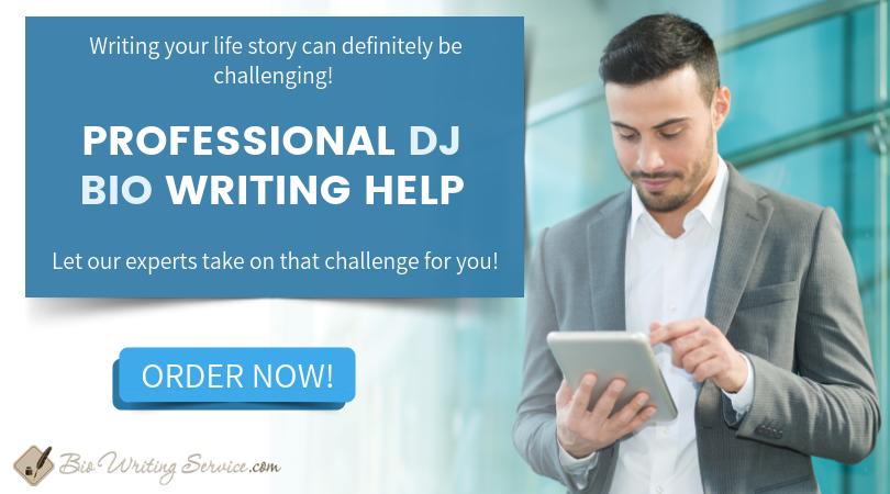 Dj bios how to write one