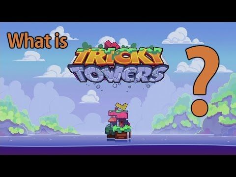 Tricky Towers Gameplay on PS4 - What is Tricky Towers?
