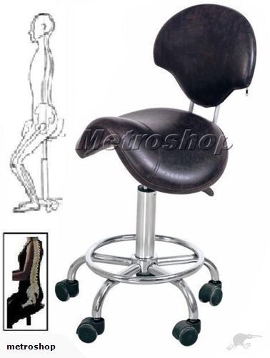 195d6528b Ergonomic Orthopaedic Posture Saddle Chair  This saddle stool with ...