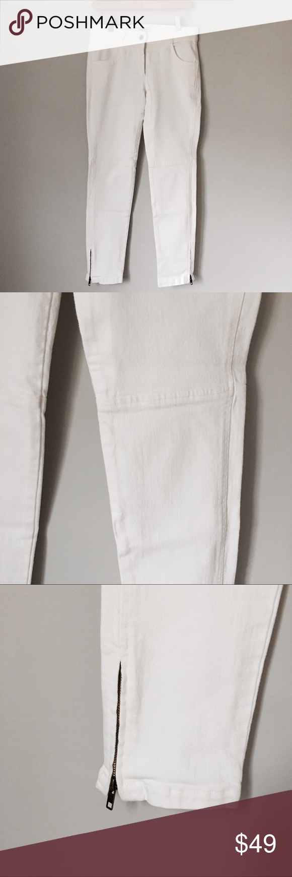 Emerson Fry White Jeans NWOT White skinny jeans with ankle zip. Fit a bit smaller than an actually 4. Emerson Fry Jeans Skinny #emersonfry Emerson Fry White Jeans NWOT White skinny jeans with ankle zip. Fit a bit smaller than an actually 4. Emerson Fry Jeans Skinny #emersonfry Emerson Fry White Jeans NWOT White skinny jeans with ankle zip. Fit a bit smaller than an actually 4. Emerson Fry Jeans Skinny #emersonfry Emerson Fry White Jeans NWOT White skinny jeans with ankle zip. Fit a bit smaller t #emersonfry
