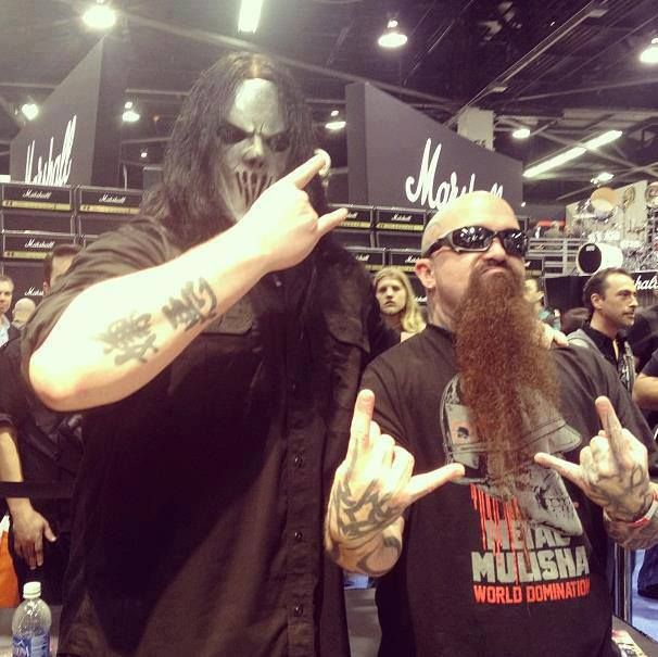 Kerry King Slayer Tattoos: .Mick Thomson (Slipknot) & Kerry King (Slayer)