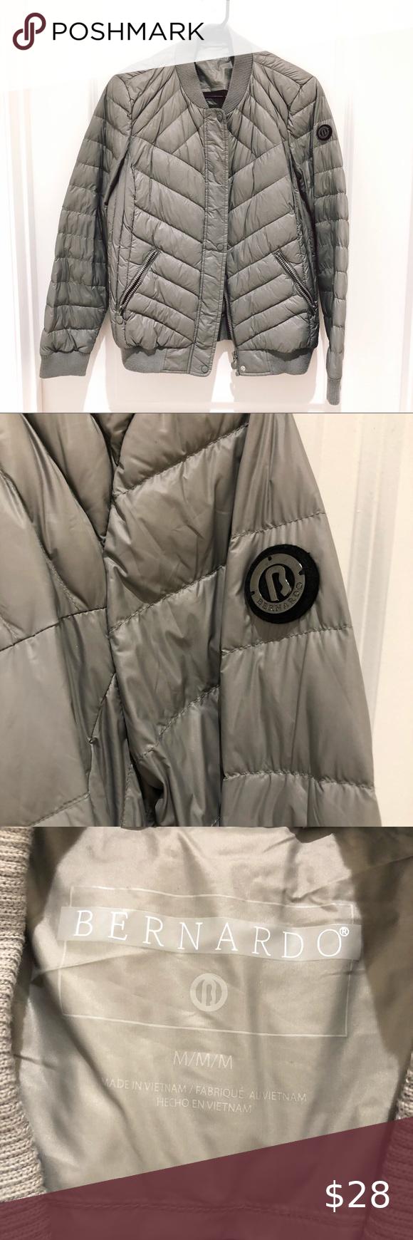 Bernardo Grey Puffer Jacket Medium Grey Puffer Jacket Jackets Puffer Jackets [ 1740 x 580 Pixel ]