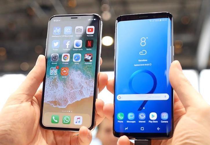 Samsung S9 Vs. Iphone X comparación https//bitly.replug