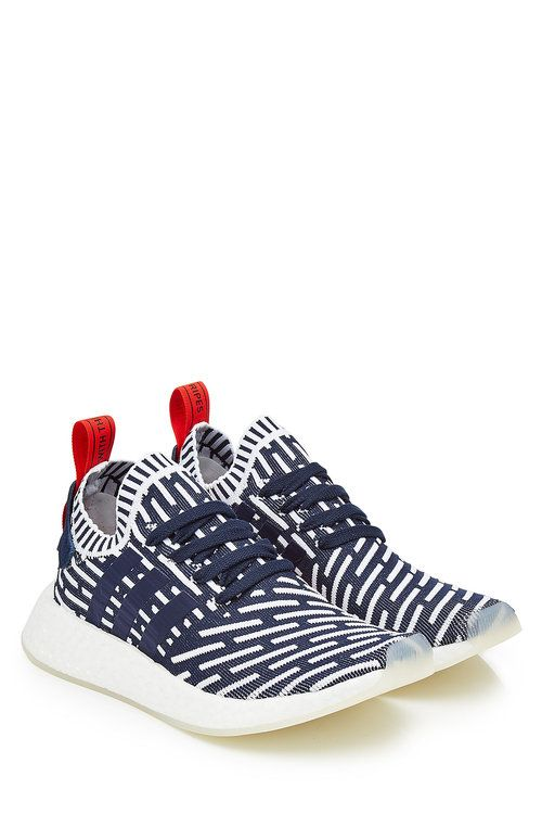 a7568046c937 ADIDAS ORIGINALS Nmd R2 Primeknit Sneakers With Leather.  adidasoriginals   shoes