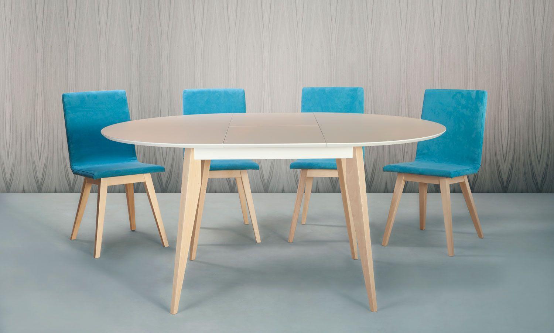 Mesa redonda extensible buscar con google comedor - Mesa de cocina redonda extensible ...
