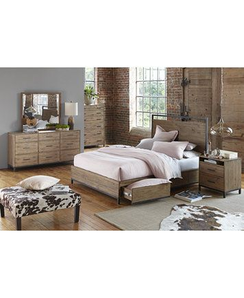 Gatlin Storage Platform Bedroom Furniture Collection, Created for ...