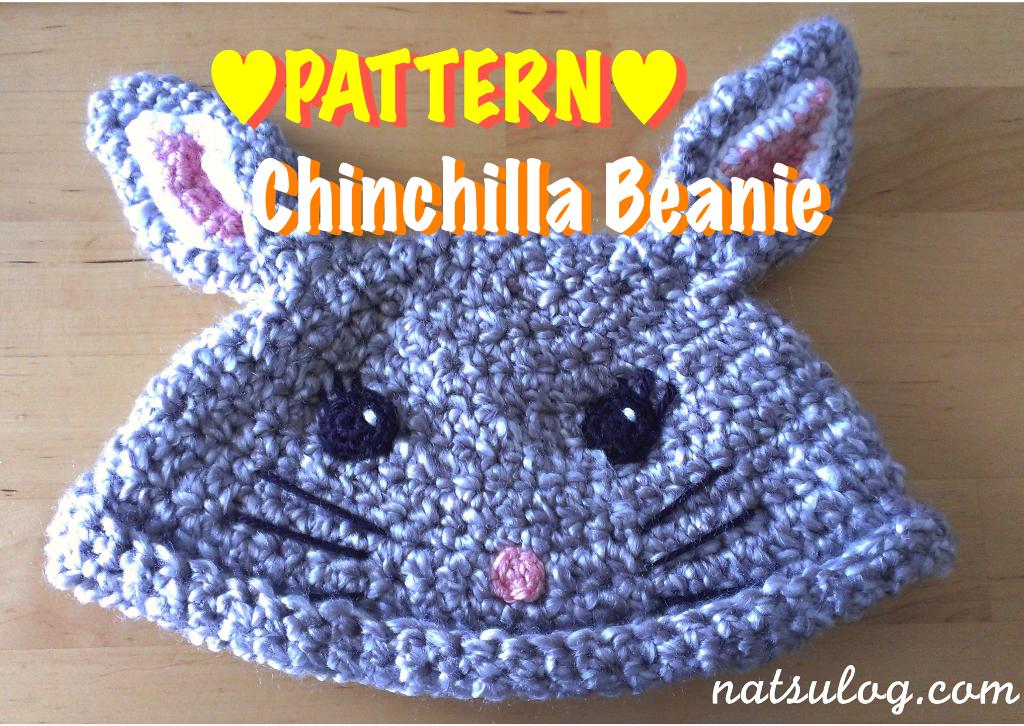 Cute Chinchilla Beanie