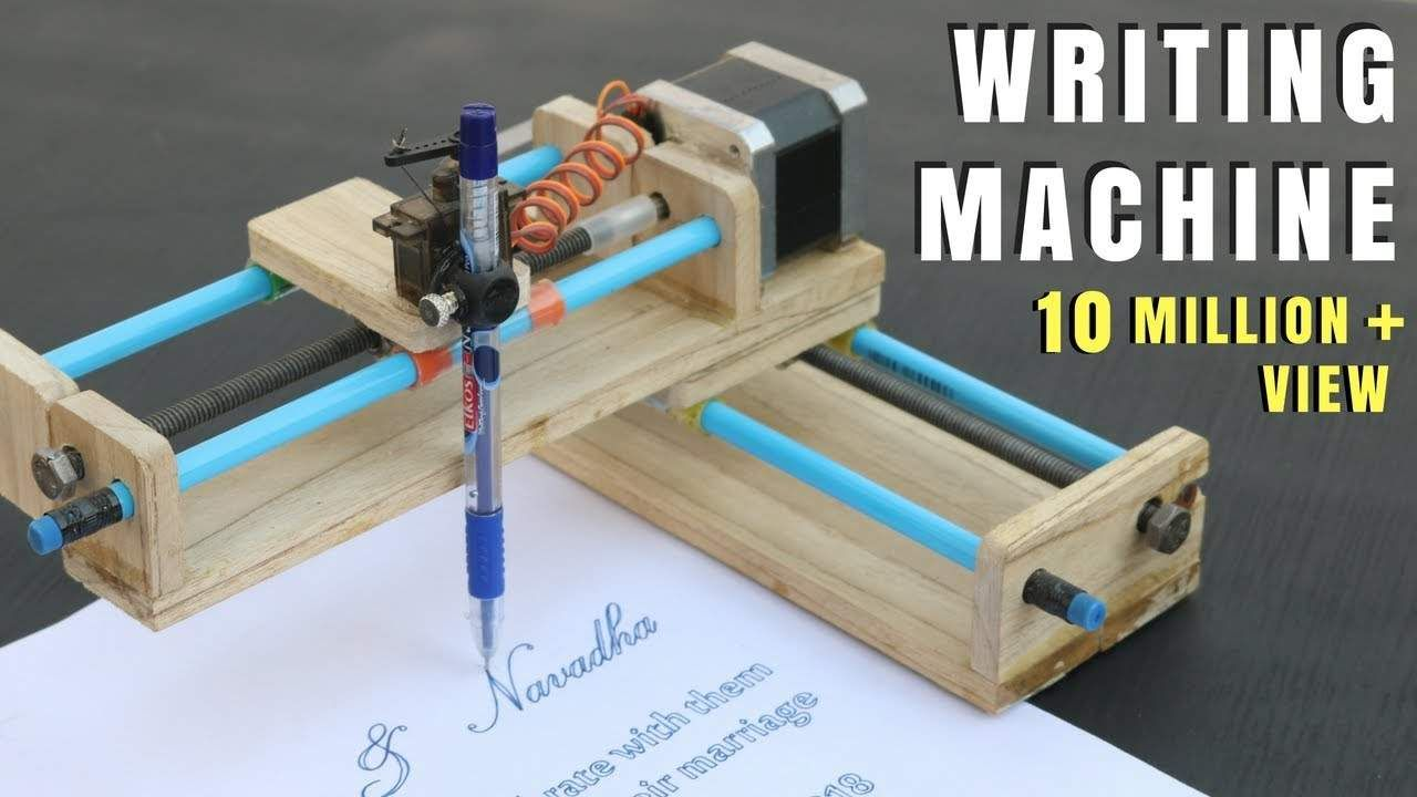 How To Make Homework Writing Machine At Home Writing Machine