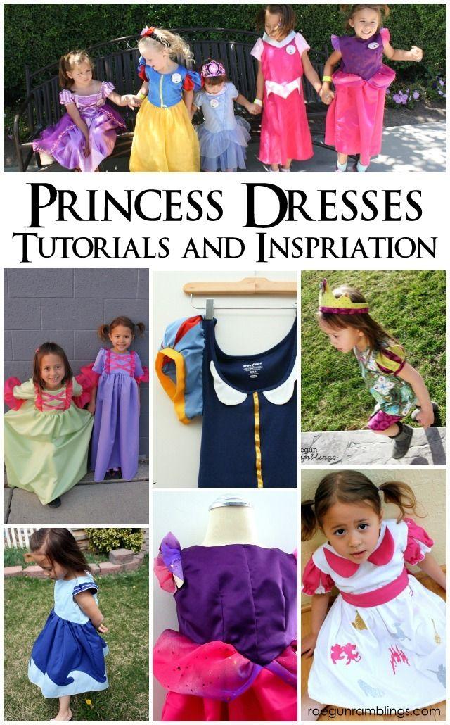 The Best Princess Dress Tutorials and Inspiration | Kostüm ...