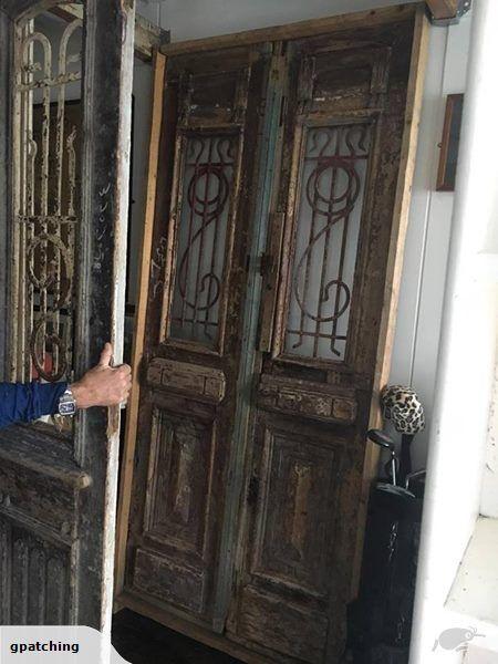 Antique Wooden Door | Trade Me | Wooden doors, Antiques ...