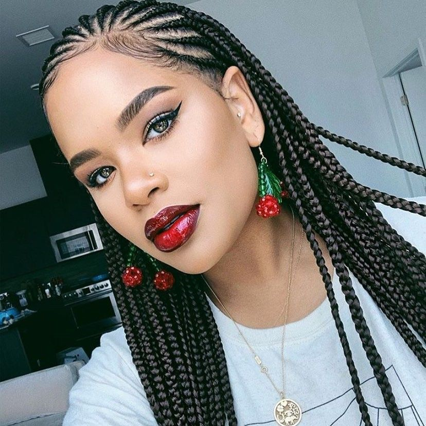 Pin By Keila Pitts On Hair And Beauty Braids For Black Hair
